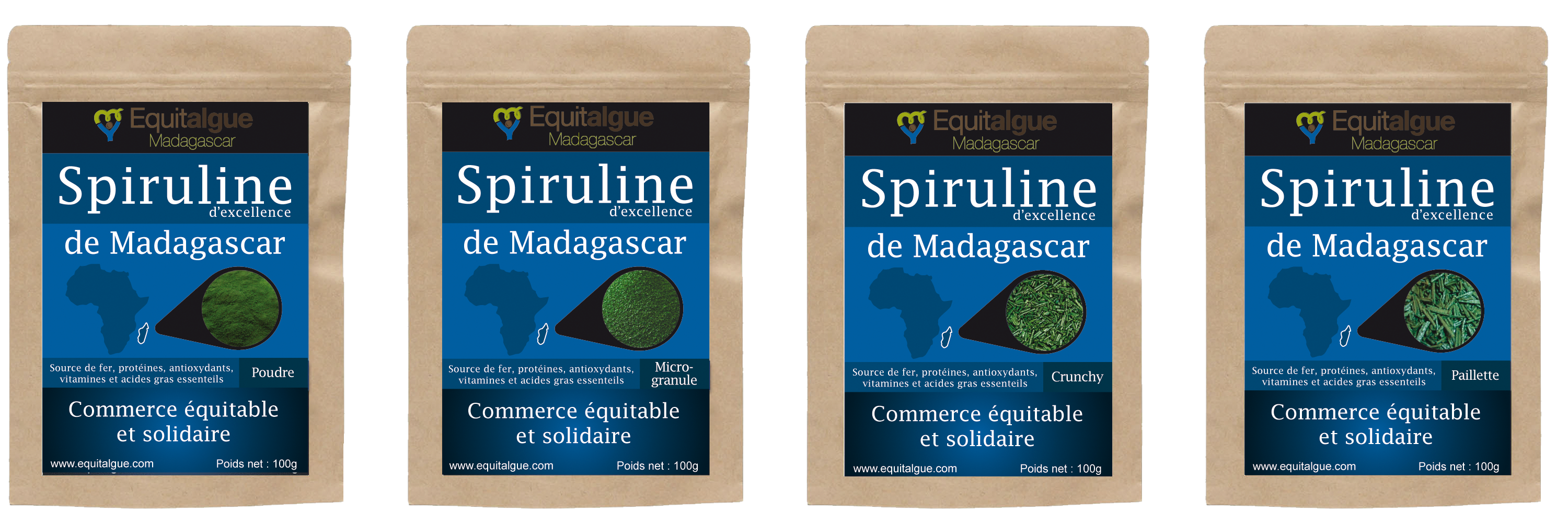Packaging EQUITALGUE MADAGASCAR by COResponsable Conseil