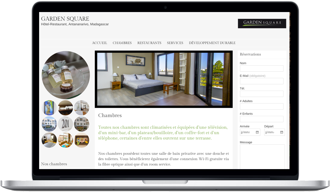 Site web GARDEN SQUARE by COResponsable Conseil